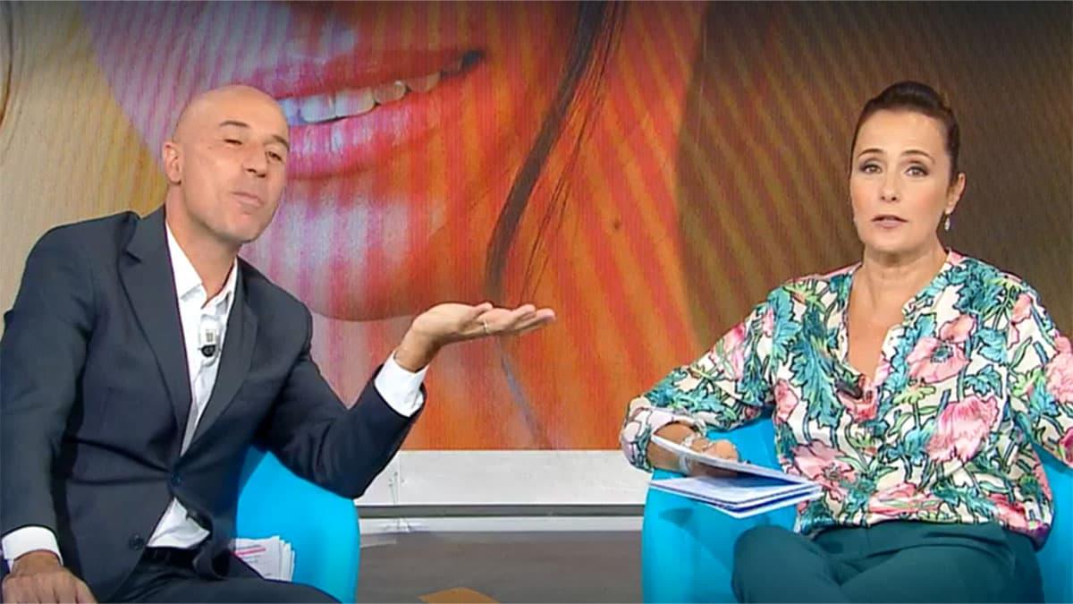 foto Gianluca Semprini e Roberta Capua ad Estate in diretta