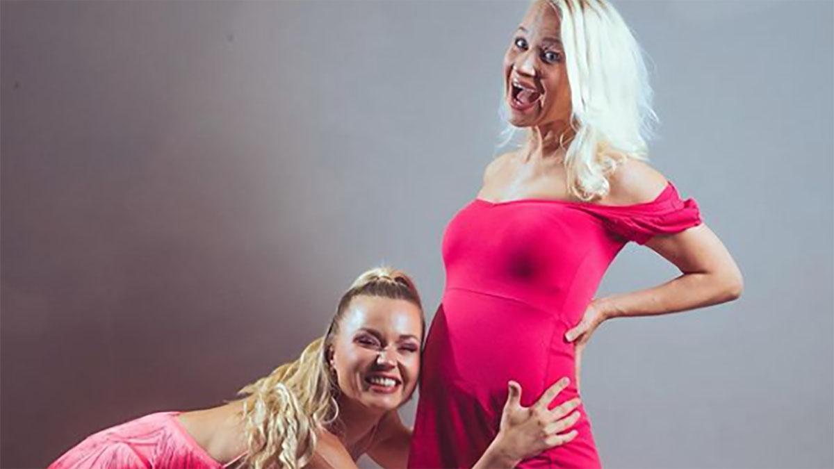 foto Anastasia Kuzmina e Veera Kinnune di Ballando con le stelle