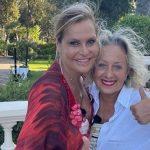 """Carolyn Smith felice: """"Oggi emozione impagabile"""". La foto con Simona Ventura"""