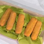 Ricette È sempre mezzogiorno: crocchettoni di patate ripieni di Antonella Ricci