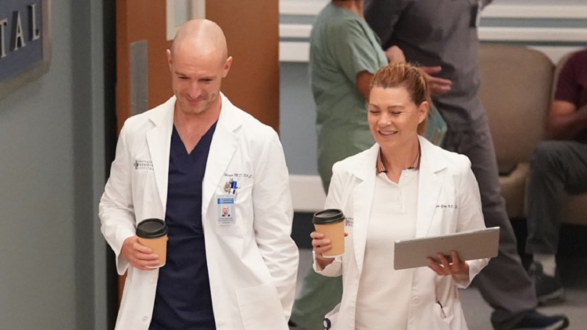 Foto Grey's Anatomy 18 - Meredith e Hayes