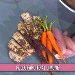 Ricette È sempre mezzogiorno: pollo farcito al limone di Francesca Marsetti