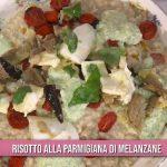 È sempre mezzogiorno: risotto alla parmigiana di melanzane di Sergio Barzetti