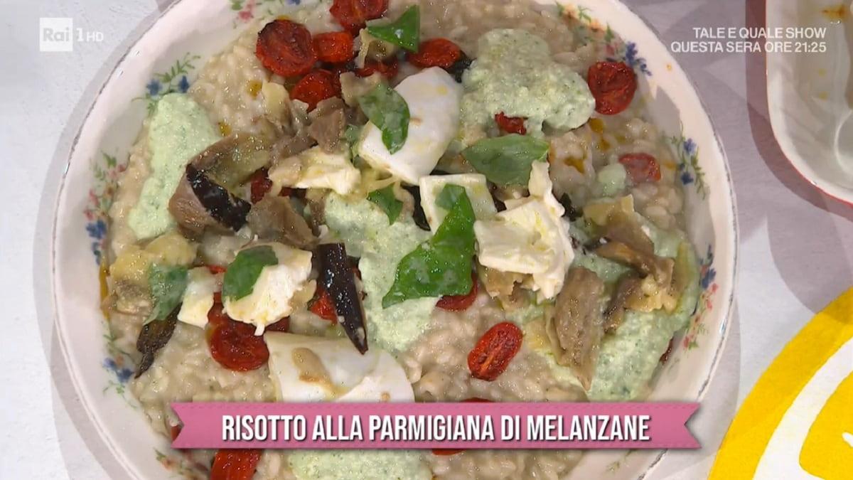 Foto Risotto Alla Parmigiana Di Melanzane Sergio Barzetti E Sempre Mezzogiorno