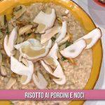 Ricette È sempre mezzogiorno: risotto ai porcini e noci di Sergio Barzetti