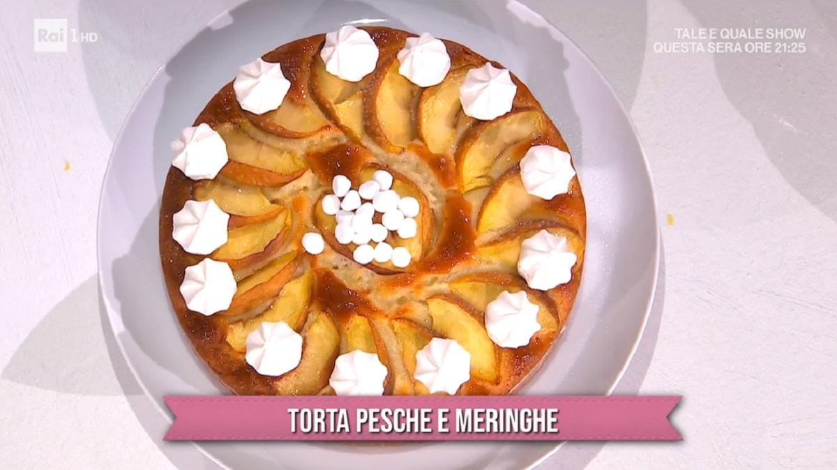Foto Torta Pesche e Meringhe E Sempre Mezzogiorno