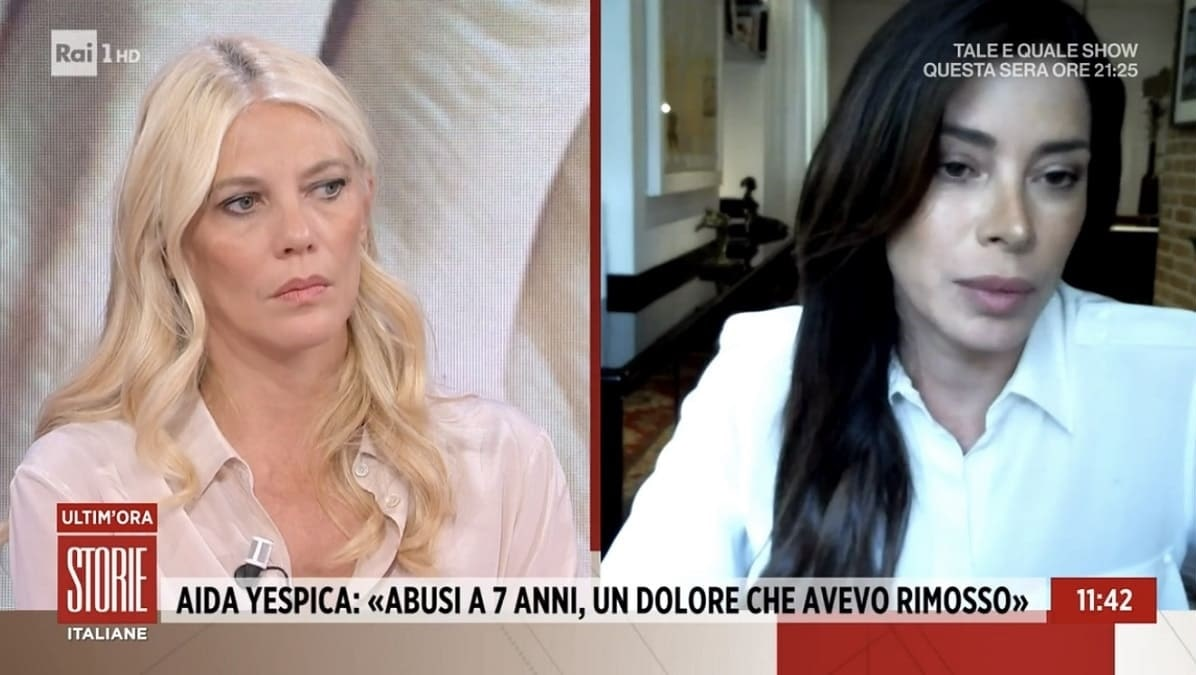 foto Aida Yespica storie italiane oggi