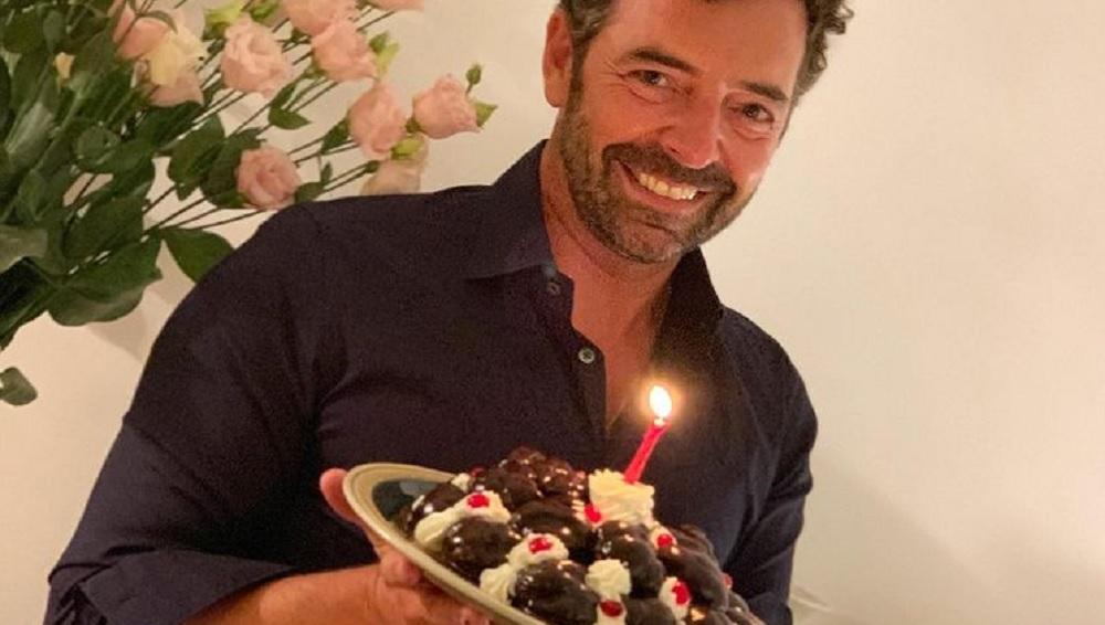 foto Alberto Matano compleanno