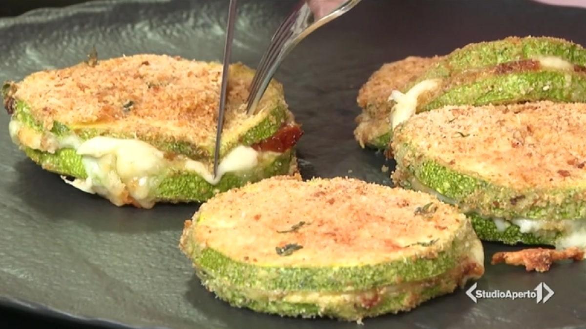 foto cotolette zucchine cotto e mangiato