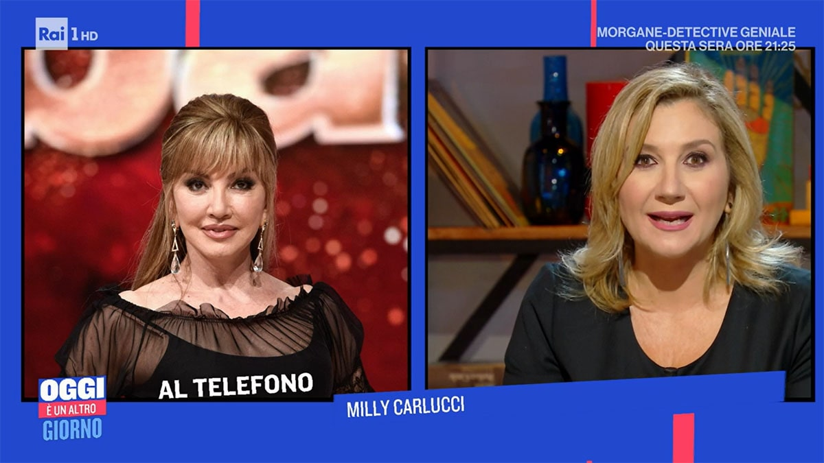 foto Milly Carlucci e Serena Bortone