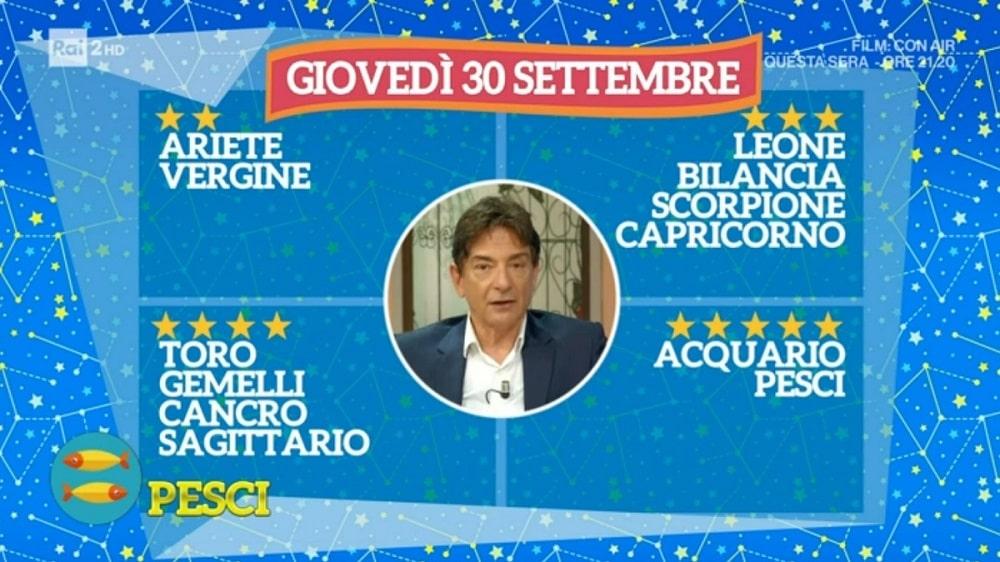 foto Paolo Fox 30 settembre oroscopo