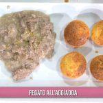 È sempre mezzogiorno ricette: fegato all'aggiadda di Ivano Ricchebono