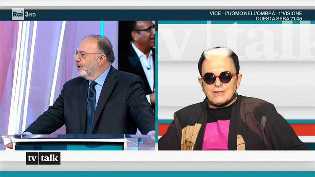 foto Cristiano Malgioglio a Tv Talk
