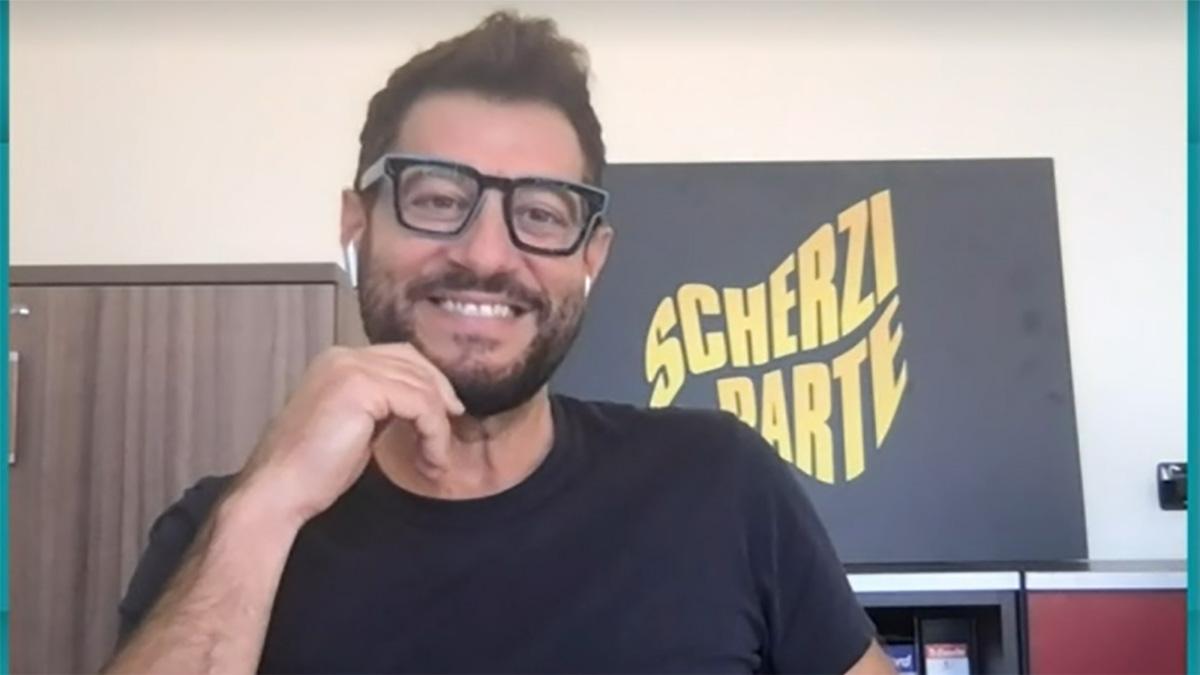 foto Enrico Papi a Tv Talk