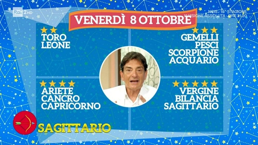 foto Paolo Fox oroscopo 8 ottobre