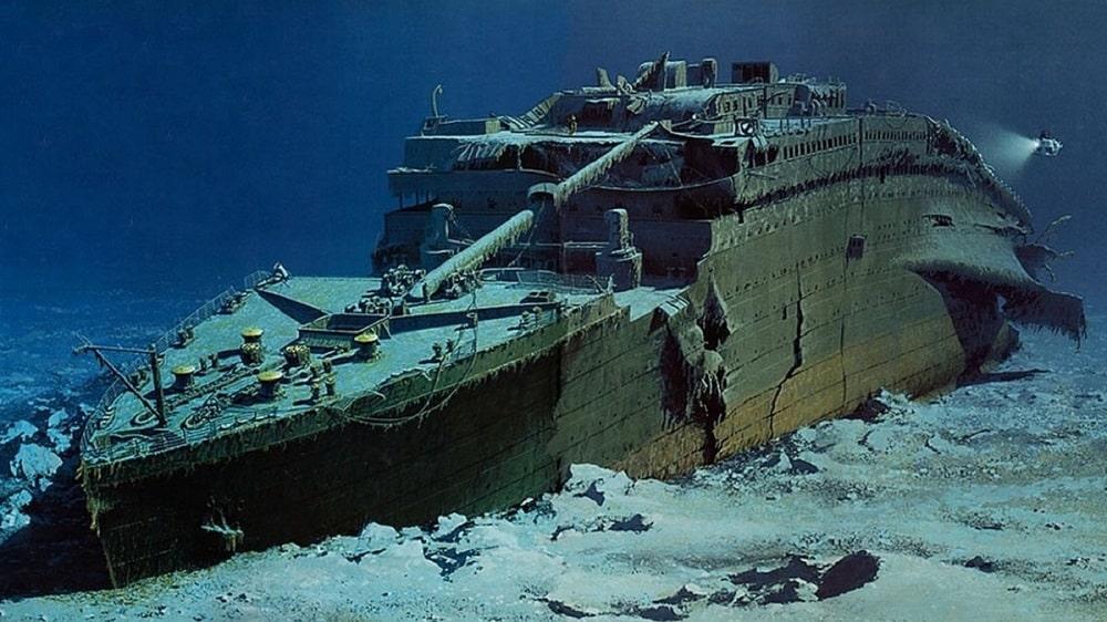foto relitto Titanic
