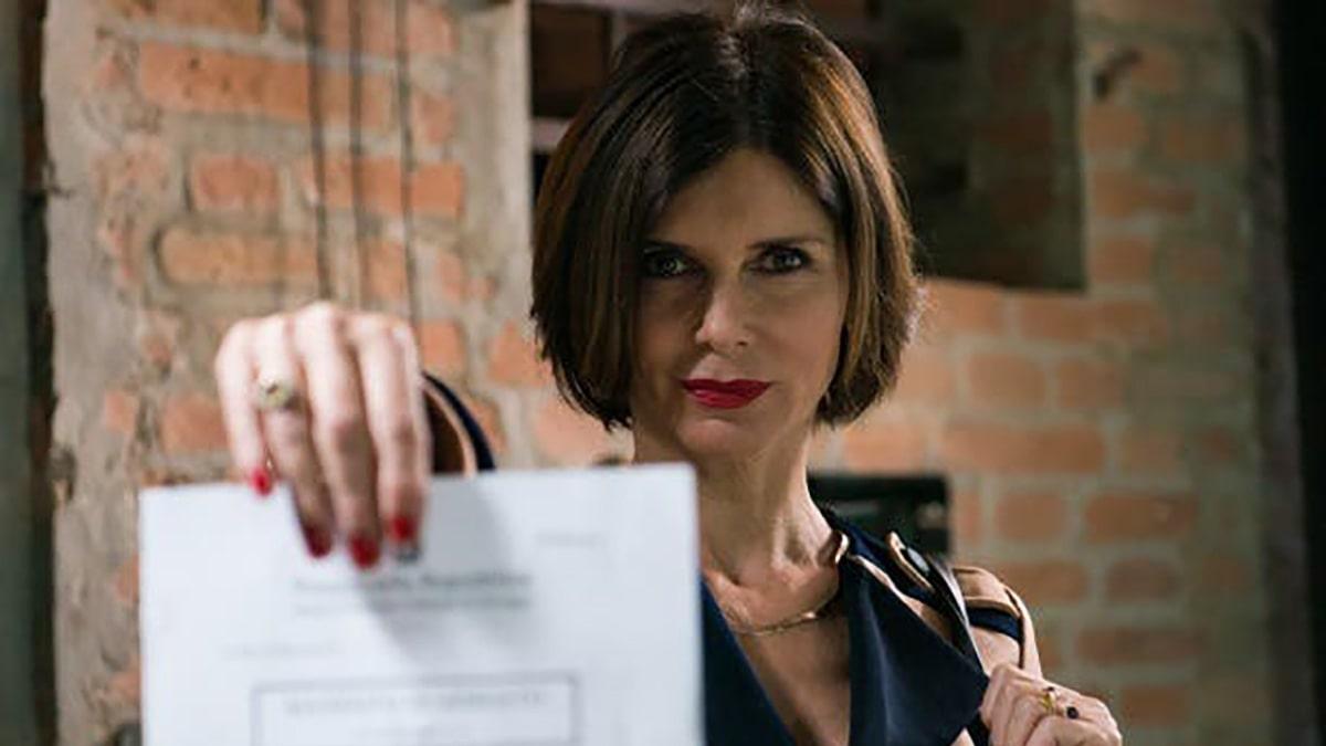 foto Veronika Logan ne L'ispettore Coliandro